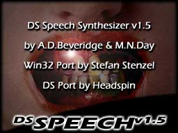 Thumbnail 1 for DSSpeech Speech Synthesizer